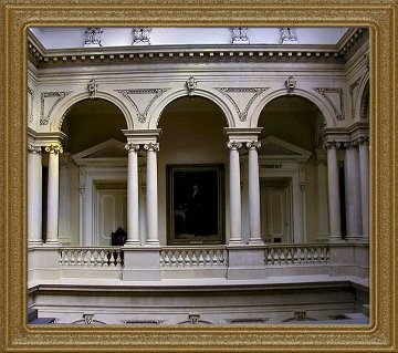 Osgoode Hall Archways and Portrait