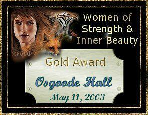 Women of Strenght and Inner Beauty Award