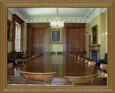 Osgoode Hall Benchers Quarters Dining room
