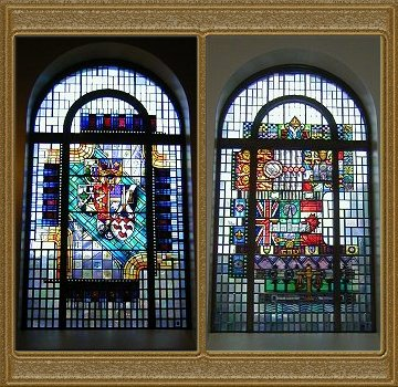 Osgoode Hall Convocation Hall Stained Glass