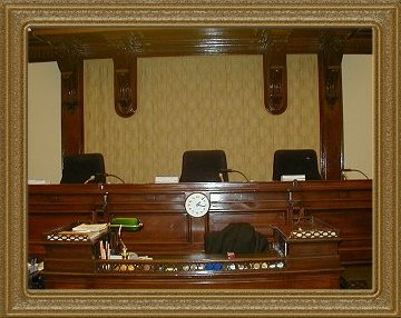 Osgoode Hall Courtroom 3 Bench