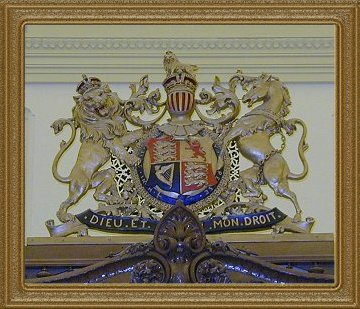 Osgoode Hall Courtroom 2 Coat of Arms