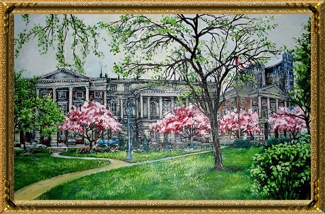Osgoode Hall Painting by Michael Nelson