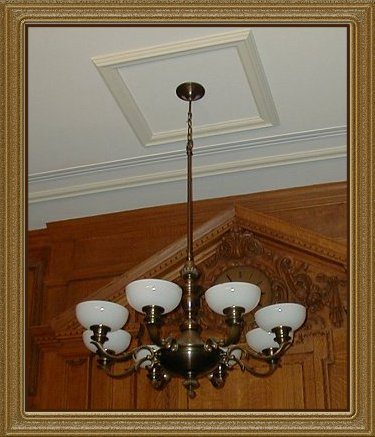 Old Bailey Chandelier Replica in Osgoode Hall