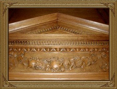 Old Bailey Panelling in Osgoode Hall