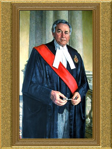 Osgoode Hall Portrait Chief Justice LeSage