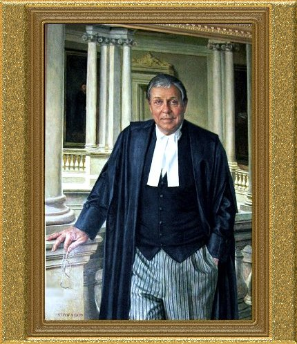 Osgoode Hall Portrait Chief Justice McMurtry